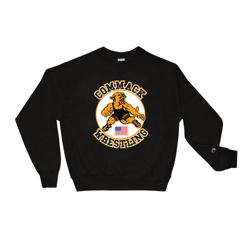 Commack Wrestling X Champion, Sweatshirt Style #3