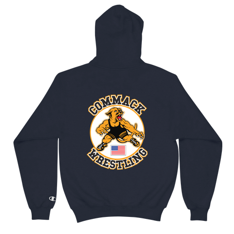 Commack Wrestling Champion Hoodie Style #2