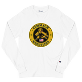Commack Wrestling X Champion Long Sleeve Shirt Style #2
