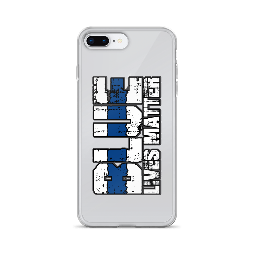 Blue Lives Matter- iPhone Case