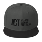 ACT Snapback Hat Black