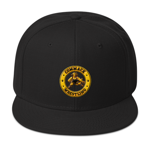 Commack Wrestling Snapback Hat