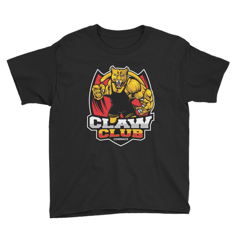 Claw Club Youth Short Sleeve T-Shirt Style 2