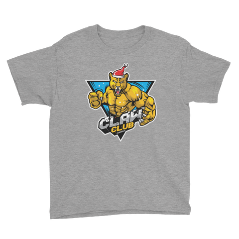 Claw Club Holiday Youth Short Sleeve T-Shirt