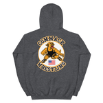 Commack Wrestling Hooded Sweatshirt Style #2