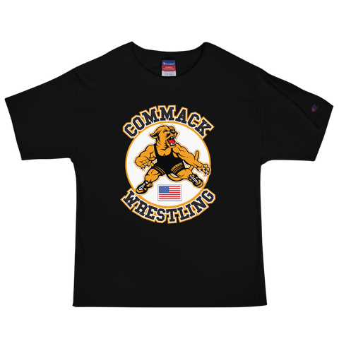 Commack Wrestling Men's Champion T-Shirt Style #3