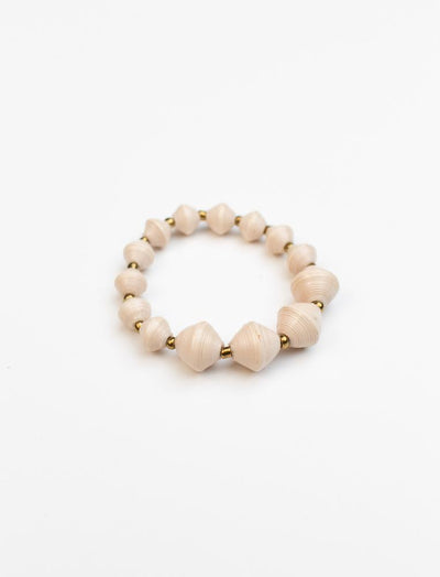 The Collector Bracelet - Cream
