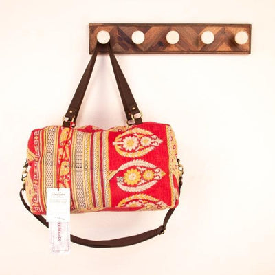 Sunrise Weekender Bag (Red and Yellow)