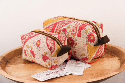 Mota Makeup Bag - Dainty Floral