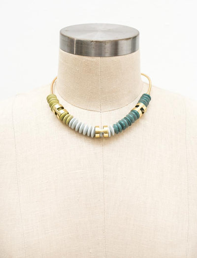 Camellia Collar Necklace