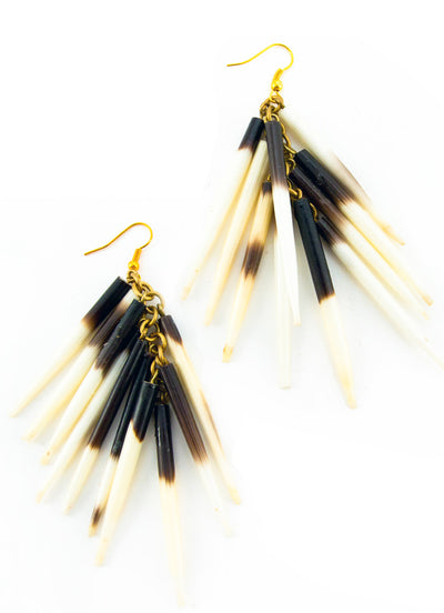 Kenyan Quill Earrings