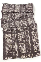 Twilight Mudcloth Throw Blanket