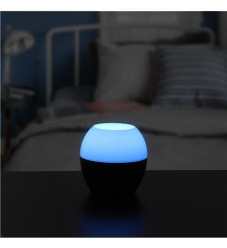 Bluetooth Speaker with Color Changing LED Lamp by Jensen - EarBuds & accessories