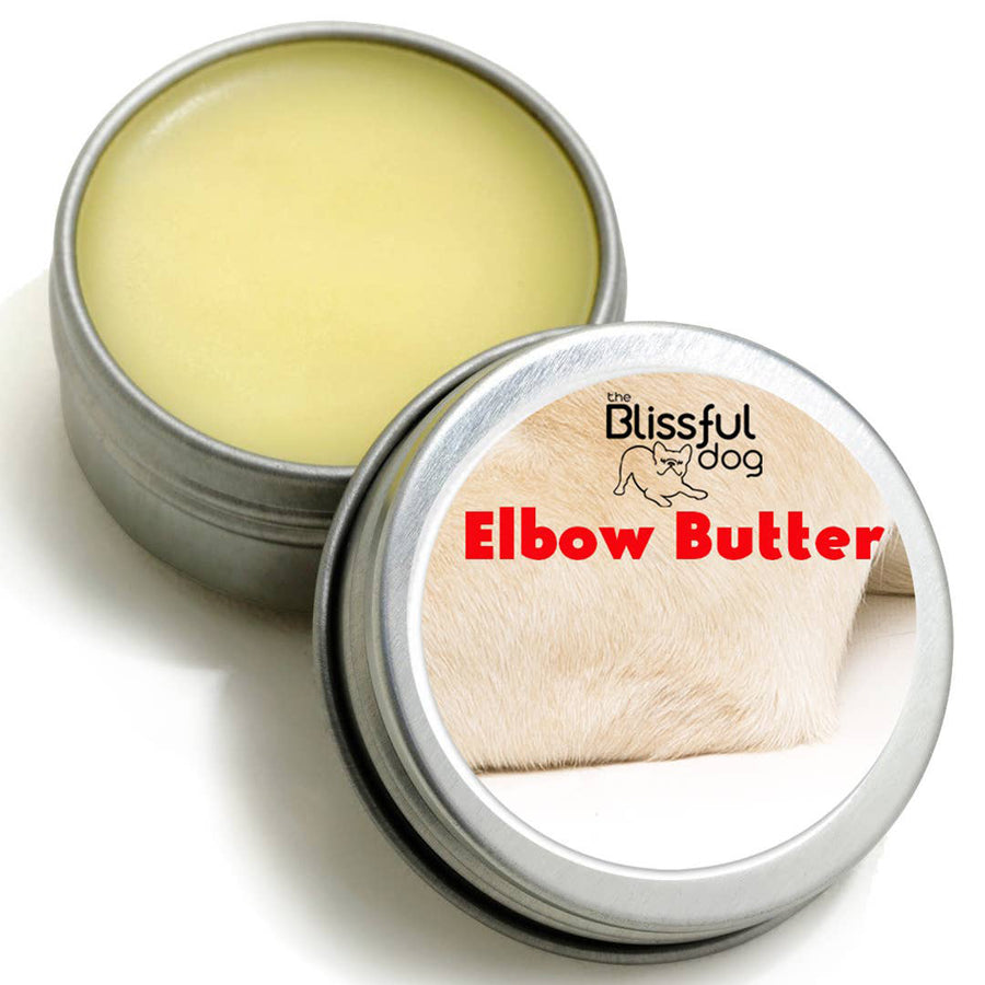 The Blissful Dog Elbow Butter Moisturizes Your Dog's Elbow Calluses