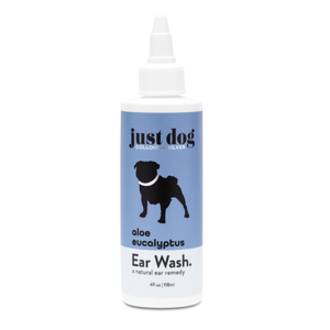 Just Dog, Ear Wash, Aloe Eucalyptus, 4 oz