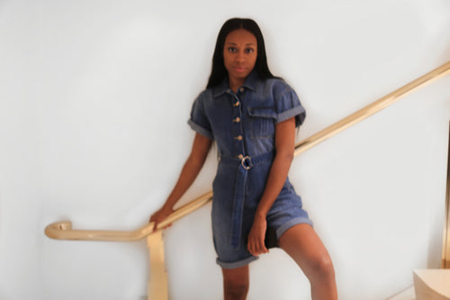 D'Zhonea Miara | Denim Days Jumpsuit