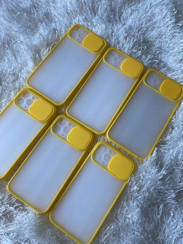 Calm Yellow iPhone case