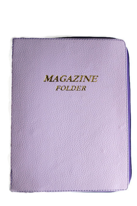 Magazine Folder in Lilac - K. GRANT PUBLISHING Jehovah's witness jw gift products