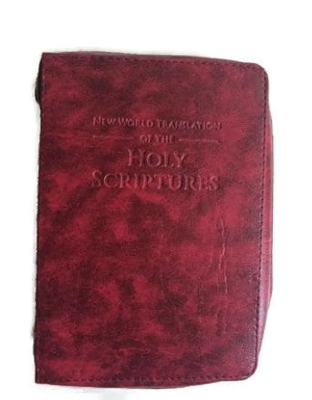 Bible Cover:  Maroon - K. GRANT PUBLISHING Jehovah's witness jw gift products