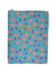 Light Blue Swirl Flowers  Magazine Folder - K. GRANT PUBLISHING Jehovah's witness jw gift products