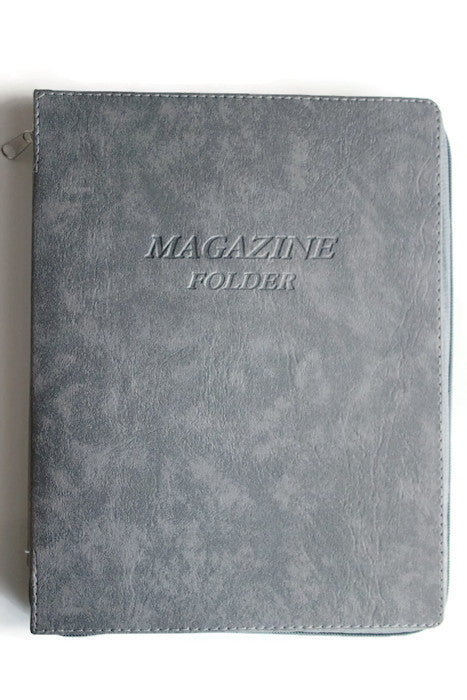 Magazine Folder in Gray - K. GRANT PUBLISHING Jehovah's witness jw gift products
