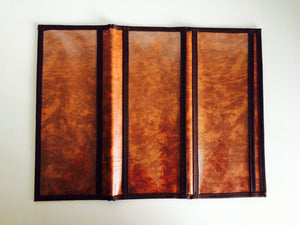 Tan 6 pocket Long tract Folder - K. GRANT PUBLISHING Jehovah's witness jw gift products