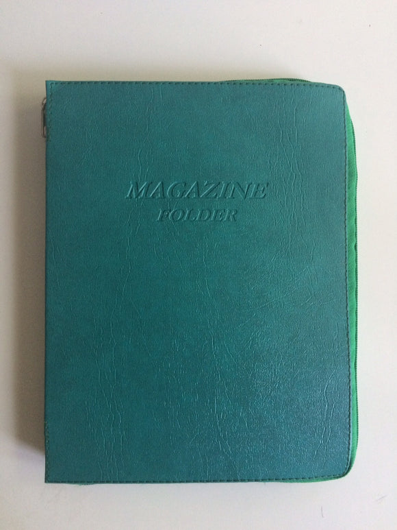 Magazine Folder in Mint - K. GRANT PUBLISHING Jehovah's witness jw gift products