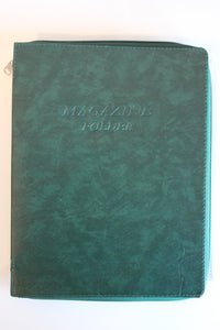 Magazine folder in Dark Green - K. GRANT PUBLISHING Jehovah's witness jw gift products