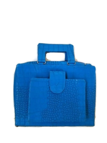 Pioneer Approved Service Bag Croc Blue