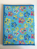 Blue Mix Flowers Pioneer Folder - K. GRANT PUBLISHING Jehovah's witness jw gift products