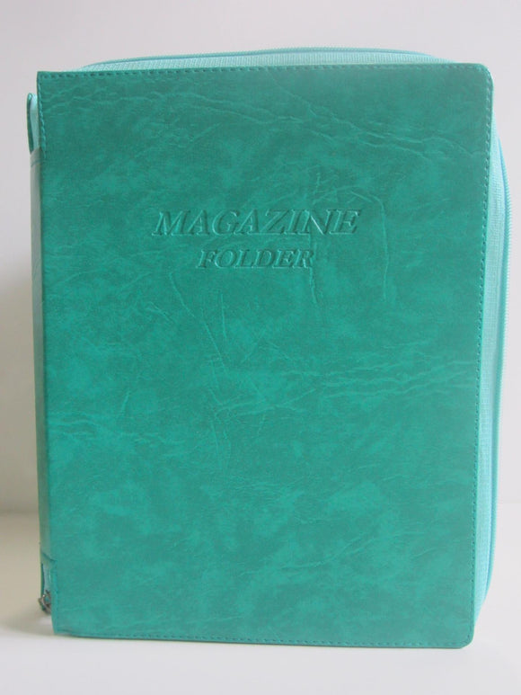 Magazine Folder in Teal - K. GRANT PUBLISHING Jehovah's witness jw gift products