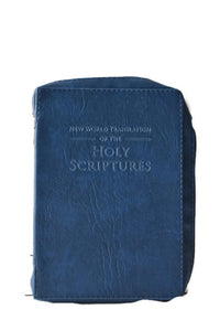Bible Cover:  Navy Blue - K. GRANT PUBLISHING