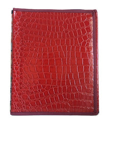 Pioneer Folder Red crocodile - K. GRANT PUBLISHING Jehovah's witness jw gift products