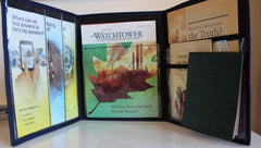 Pioneer folder in light grey - K. GRANT PUBLISHING Jehovah's witness jw gift products
