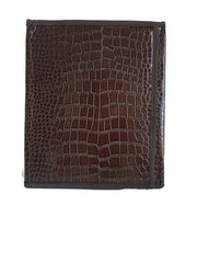 Pioneer Folder in Brown Crocodile - K. GRANT PUBLISHING Jehovah's witness jw gift products