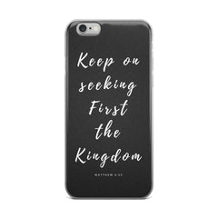 iPhone 5/5s/Se, 6/6s, 6/6s Plus Case - K. GRANT PUBLISHING  - 2