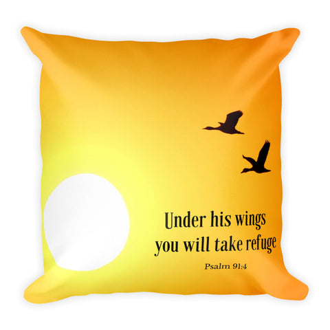 Under his wings you will take refuge