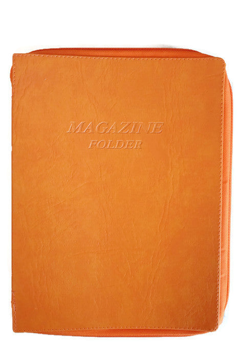 Magazine Folder in Orange - K. GRANT PUBLISHING Jehovah's witness jw gift products