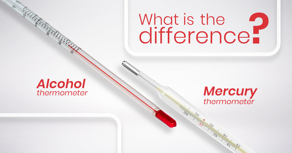 What is the Difference Between Mercury and Alcohol Thermometer