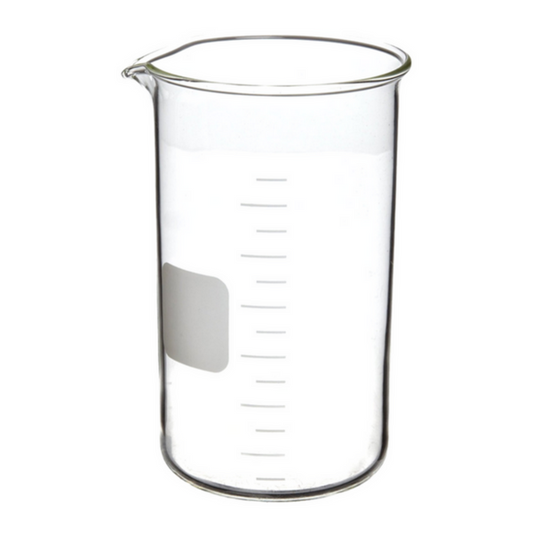 Beakers, Tall Form with Spout, Fused Quartz -  Science Lab Equipment | Science Equip Australia