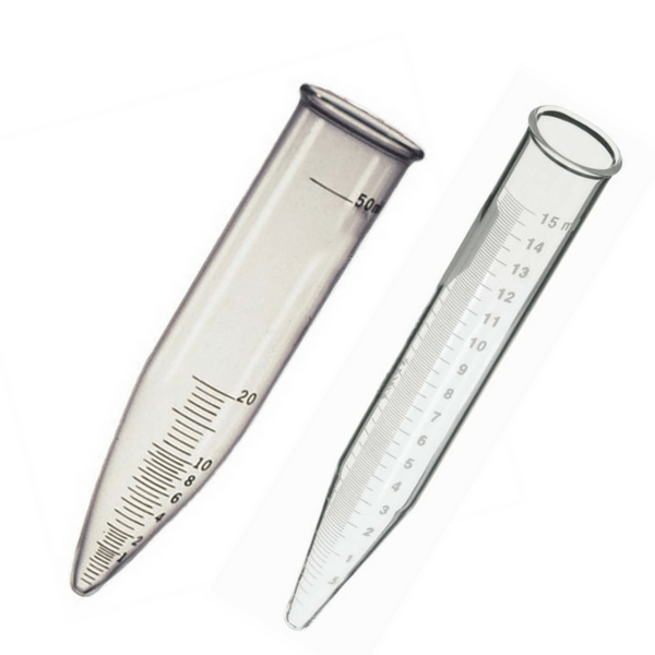 Conical Centrifuge Tubes, Graduated, Borosilicate Clear Glass -  Science Lab Equipment | Science Equip Australia