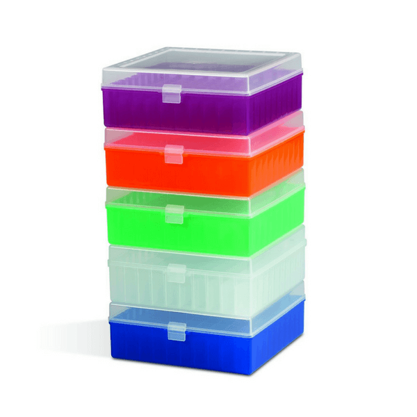 Cryo Box, 81 Places for 1 ml or 1.8 ml Cryovials, Polypropylene -  Science Lab Equipment | Science Equip Australia