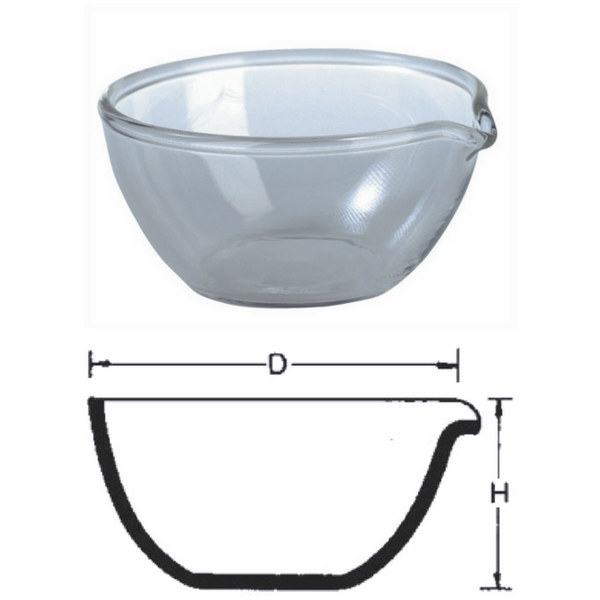 Deep Form Basins with Spout, Fused Silica/Quartz -  Science Lab Equipment | Science Equip Australia