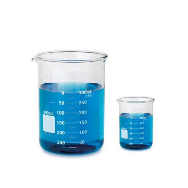 Glass Beakers, Low Form, Borosilicate -  Science Lab Equipment | Science Equip Australia