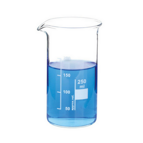 Glass Beakers, Tall Form, Borosilicate -  Science Lab Equipment | Science Equip Australia