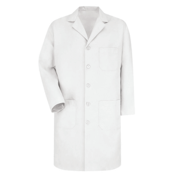Lab Coats, Full Sleeves, Knee length, White -  Science Lab Equipment | Science Equip Australia