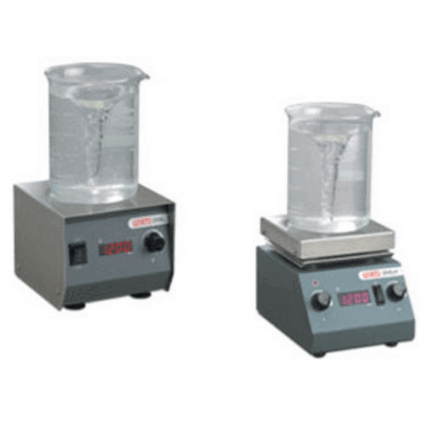Magnetic Stirrers with Hotplate & Digital Speed Indicator