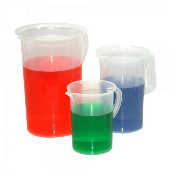 Measuring Jugs, Tall Form, Polypropylene -  Science Lab Equipment | Science Equip Australia