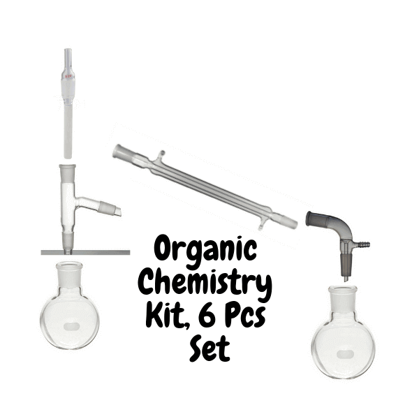 Organic Chemistry Kits, set of 6 Glassware