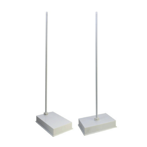 Retort Stands, Heavy Duty, Polypropylene Base -  Science Lab Equipment | Science Equip Australia